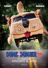 Plakat filmu Głupi i głupszy bardziej