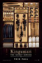 Plakat filmu Kingsman: tajne służby