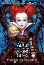 Plakat filmu Alicja po drugiej stronie lustra