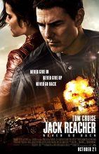 Plakat filmu Jack Reacher: Nigdy nie wracaj