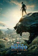 Movie poster Czarna pantera