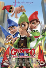Plakat filmu Gnomeo i Julia. Tajemnica zaginionych krasnali