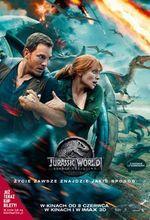 Plakat filmu Jurassic World: Upadłe królestwo