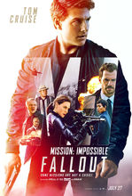 Plakat filmu Mission: Impossible - Fallout