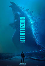 Plakat filmu Godzilla II: Król Potworów