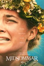 Movie poster Midsommar. W biały dzień