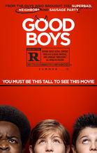 Movie poster Grzeczni chłopcy