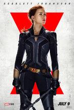 Plakat filmu Czarna wdowa