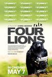 Plakat filmu Cztery lwy