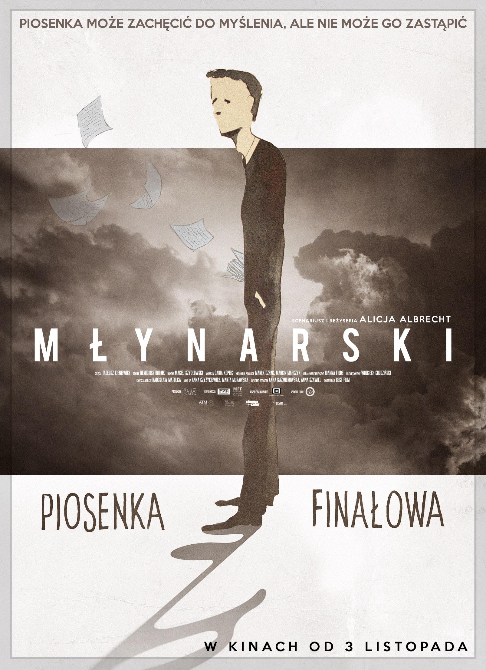 Znalezione obrazy dla zapytania młynarski piosenka finałowa film plakat